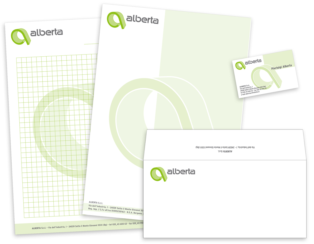 Alberta Srl- stationery
