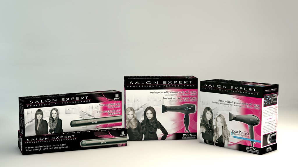Salon Expert packaging