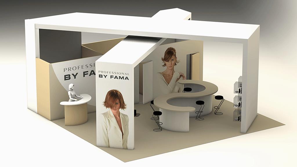 Cosmetic Exhibition Stand Design : Mauro provani exhibition booth